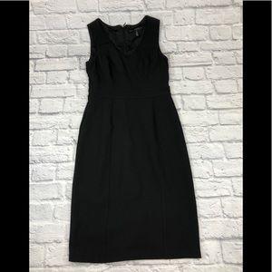 White House Black Market black dress.Sleeveless 6*